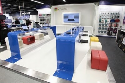 world s first google retail store opens in london i3m blog. Black Bedroom Furniture Sets. Home Design Ideas